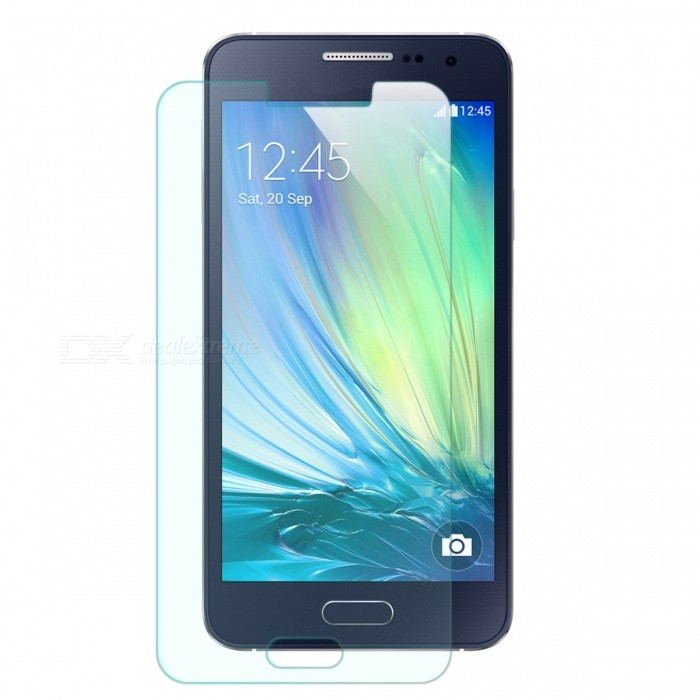 Mr.northjoe Tempered Glass Film for Samsung Galaxy A3 - Transparent