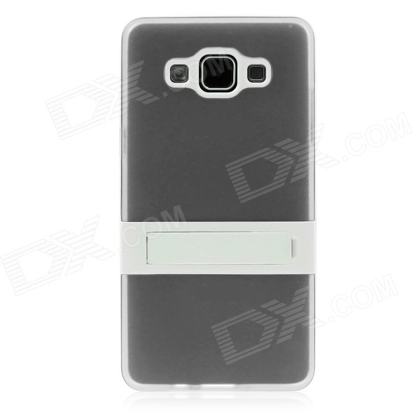 ENKAY Protective TPU Case w/ Stand for Samsung Galaxy A5 - Grey