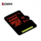 Kingston uhs-i Carte mémoire U3 Class10 64 Go TF microsd - noir