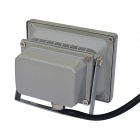 Impermeable 10W 800lm 3200K caliente blanco COB lámpara LED - gris (dc 12V)