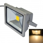JIAWEN Wired 20W LED Flood Lamp Floodlight Warm White 3200K 1600lm IP65 Waterproof - Grey (DC 12V)