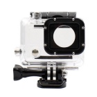 PANNOVO G-833 Professional Waterproof Camera Housing Shell Case for GoPro 3+ / 4 - Transparent
