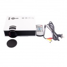 UC40 Mini Home LED Projector w/ HDMI / AV / SD / USB - White (US Plug)