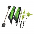 Upgraded Spare Parts Accessories Pack for V911 - Black + Green