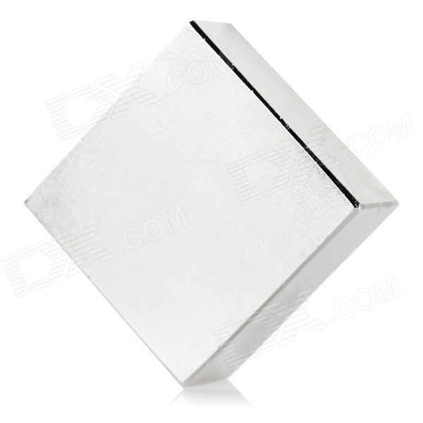 N52 37*37*17mm NdFeB Magnet - SilverMagnets Gadgets<br>Form  ColorSilverModelN52MaterialNdFeBQuantity1 DX.PCM.Model.AttributeModel.UnitNumber1Suitable Age Grown upsOther FeaturesSize: 37*37*17mmPacking List1 x Magnet<br>