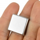 NdFeB Square Shaped Magets - Silver (2PCS)