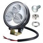 Merdia H1 6500K 730lm 9W 3-SMD LED White Light Working Light Fog Lamp