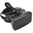 Virtual Reality 3D Glasses w/ Adjustable Distance - Black