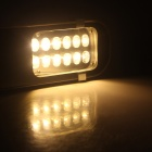 ZHISHUNJIA 24W 3000K 1800lm Warm White Lamp (85~265V)