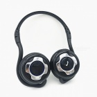 Wireless Bluetooth V4.0 Sports Stereo Headset w/ Mic - Black