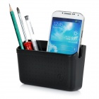 Car Organizer Placement Box for Cell Phone / Card / Wallet - Black