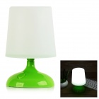 SD-962 1W Solar Powered LED Nigh Light Lamp - White + Green