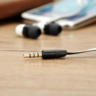 AWEI S80vi In-Ear Earphone w/ Volume Control, for IPHONE - White+Black