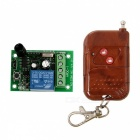 Geeetech Single Channel RF Wireless Relay Remote Control Module - Green