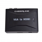 CHEERLINK VGA to HDMI Converter - Black