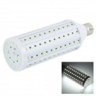 E27 30W LED Corn Lamp Cold White 6811K 1100lm SMD 5730 - Silver + White (AC 220~240V)