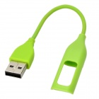 Smart USB 2.0 Charging Cable for Fitbit Flex - Green (10cm)