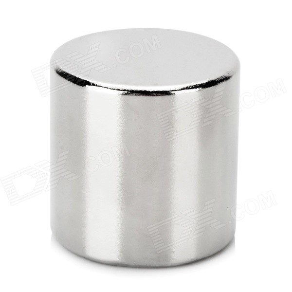 NdFeB N52 Cylindrical Magnet - Silver (D30*30mm)