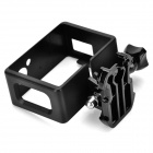 Border Protective Frame + Long Screw + Buckle Mount Set for SJ4000 Sports Camera - Black