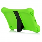 Protective Silicone Back Cover Case w/ Stand for IPAD AIR 2 - Green