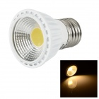 LeXing Lighting E27 5W COB LED Spotlight Warm White 380lm 3500K - White + Yellow (AC 85~265V)