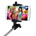 Mini 7-Section Adjustable Handheld Wireless Bluetooth Selfie Pole for Phone - Black (26.1~80cm)