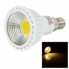 Lexing Beleuchtung E14 5.5W COB LED-Strahler Warm White 3500K 380lm - Weiß + Gelb (AC 85 ~ 265V)