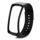 Replacement TPE + TPU Wrist Band for Samsung Gear Fit R350 Smart Watch - Black