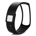 TPE + TPU Wrist Band for Samsung Gear Fit R350 Smart Watch - Black