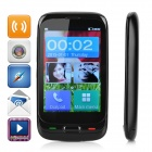 "Daxian DX528 GSM Phone w/ 3.5"" Capacitive,Camera,Dual SIM, FM Radio, MP3,Torch for Elderly - Black"