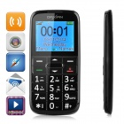 "DaXian I9500 Ultra-thin 2.2"" MTK6260M GSM Phone w/ Dual SIM, Big Keyboard, FM,Torch, Triple Band"