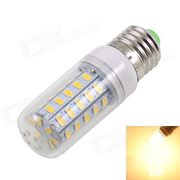 KINFIRE E27 7W 560lm 3500K 48-5730 SMD LED Warm White Lamp (220~240V)