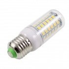 KINFIRE E27 9W 3500K 720lm SMD 5730 bulbo branco morno (220 ~ 240V)