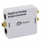 oTime OT-DA201 Digital to Analog Audio Converter Support 3.5mm Output