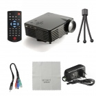 MO.MAT GP9S 1080P LED Mini Home Projector w/ HDMI, VAG, AV, SD