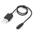 USB 2.0 Charging Cable for Vidonn X6 Smart Watch - Black