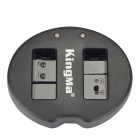 Kingma Dual-Slot USB Battery Charger for EN-EL20 / EN-EL20a - Black