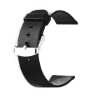 Leather Band for Apple Watch 42mm Smart Watch - Black