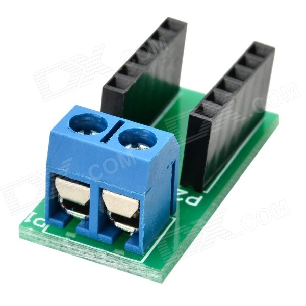 Wire Cable Connective Terminal Module for Arduino - Blue + Black