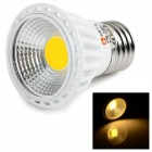 LeXing Lighting Dimmable E27 6W COB 400lm Warm White Bub (220~240V)