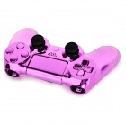 ABS Cases + Joystick Caps + Keys Set for PS4 Controller - Pink Lilac