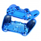 ABS Cases + Joystick Caps + Keys Set for PS4 Controller - Blue