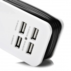 5V / 4.2A 4 ports Alimentation USB Chargeur w / UK Socket / US Plugs