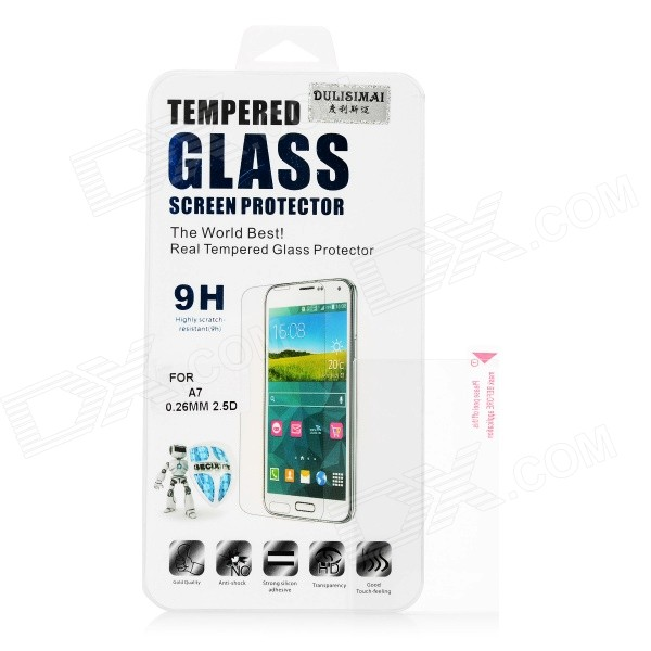 Dulisimai Protective Clear Tempered Glass Screen Protector for Sony A5000 / A6000 / 3N - Transparent