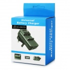 NB-12L Battery Charger w/ EU Adapter for Canon G1X Mark II N100 (US)