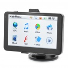 "5.0"" LCD Windows CE 5.0 Core GPS Navigator with FM Transmitter (2GB SD Card)"