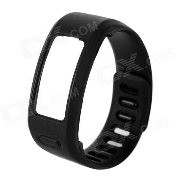TPE + TPU Wrist Band for Garmin Vivofit Smart Bracelet - BlackWearable Device Accessories<br>Form ColorBlackQuantity1 DX.PCM.Model.AttributeModel.UnitMaterialTPE + TPUPacking List1 x Replacement band<br>