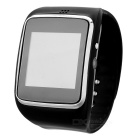 "Z30 1.54"" Capacitive Curved Touch Screen Watch Phone w/ WhatsApp, Pedometer, Sleep Monitor - Black"
