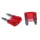 Car Vehical Self Control Flat Plug Blade Fuses (20PCS, S, 10A Red)