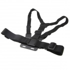 Chest Strap + 3-way Mount Base for GoPro Hero 3+ / 3 / 2 / 1 - Black